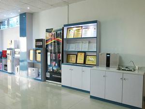 展厅-证书展示区