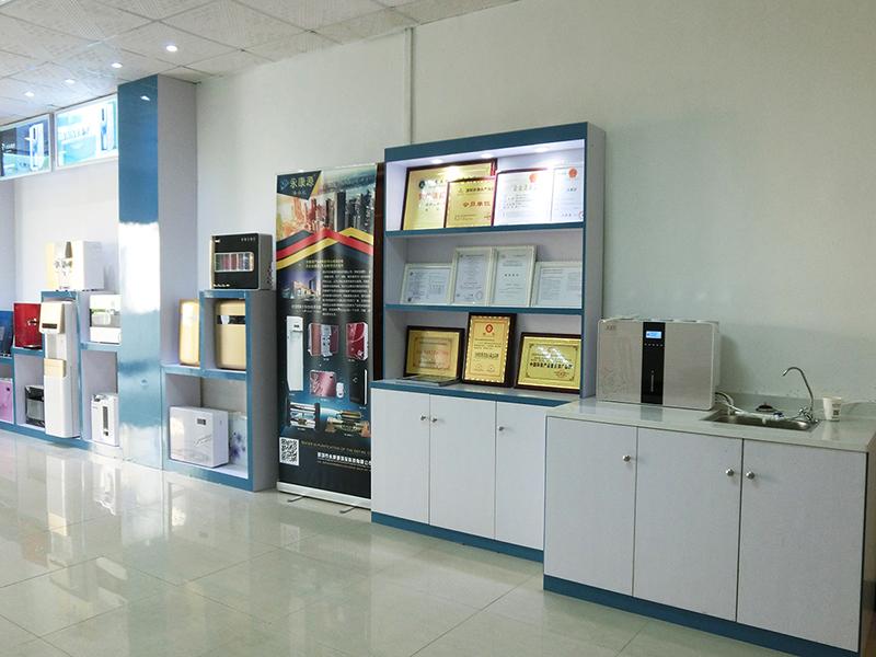 展廳-證書展示區